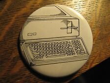 Apple III 3 Steve Jobs USA Patent Specs Personal Computer Lapel Button Hat Pin