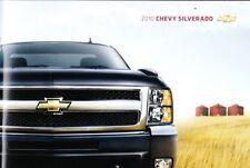 2010 10  Chevrolet Silverado original  brochure MINT