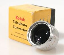 TELEPHOTO CONVERTER 13MM-24MM FOR BROWNIE MOVIE CAMERA IN ORIG. BOX