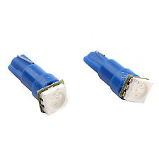 2 X BRIGHT Blue T5 5050 SMD LED Wedge Dash Cluster Switch Dash Gauge AU WARRANTY