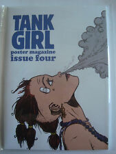 Tank Girl Poster Magazine Issue Number 4 - Alan Martin Signed