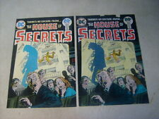 House Of Secrets #118 Cover Art, original Approval Cover Proof and Painting 70'S