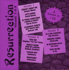 RESURRECTION VOL 7-8-9 ON 1 CD DJ REMIX SERVICE 80'S NEW WAVE SEALED OOP!