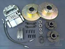 FORD CORTINA MK1 MK2 GT CAPRI BIG BRAKE KIT TWIN PISTON DRAG RACE V8 RALLY 440