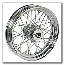 "40 SPOKE 16"" FRONT WHEEL 16 X 3 HARLEY SOFTAIL FLST FLSTC HERITAGE SPRINGER"