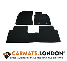 Toyota Avensis Saloon 2012 - 2017 Tailored Fitted Car Floor Mats Set in Black