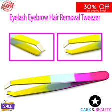 Professional Plucker Eyebrow Tweezer Pointed Hair Remover Makeup Beauty Tools CE