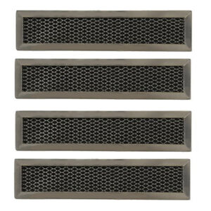 4 Compatible Frigidaire 5304464577 Charcoal Carbon Microwave Filter Replacement