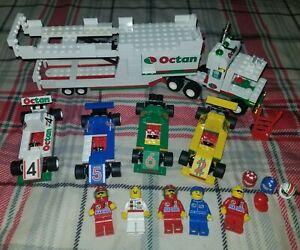 "Lego System 1996 ""Octan"" Indy Transport 6325 INCOMPLETE*FOR*PARTS*"