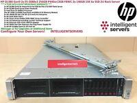 HP DL380 Gen9 2x E5-2680v3 256GB 2x 146GB 15K 6x SSD P440ar/2GB FBWC Rack Server
