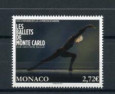 Monaco 2016 estampillada sin montar o nunca montada Ballet de Monte Carlo ballets Jean-Cristophe maillot 1v sellos