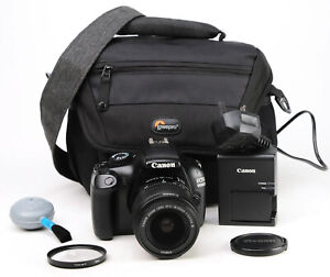 Canon EOS 1100D DSLR Camera +EF-S 18-55mm III Lens Kit + Only 8,187 Shots - EXC