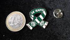 Schal Scarf Fanschal Pin Badge SK RAPID WIEN