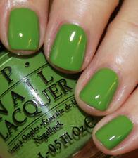 Opi Nail Polish Lacquer ~I'm Sooo Swamped Nl N60~ Green Creme Shade 0.5 oz