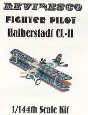 Halberstadt CL-II - Deutscher Schlachtflieger - WW 1 - 1:144 - Zinnbausatz