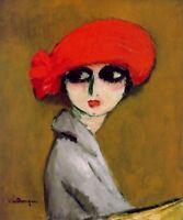 The Corn Poppy : Kees van Dongen : Circa 1919 : Fine Art Print