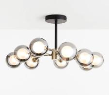 John Lewis Huxley Semi Flush Ceiling Light REPLACEMENT SHADES Brass/Black SPARES