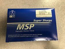 MSP 56MF Keratome Blade Medium Straight 6/Box