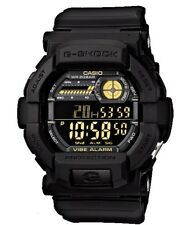 Casio G-Shock Digital Mens Black/Gold Vibration Alert Watch GD-350-1B GD-350-1BD
