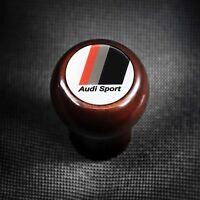 Audi Sport 4 5 6 Gang Holzschaltknauf V8 S2 RS2 A3 S3 8L A6 S6 C5 A4 S4 B5 S8 90
