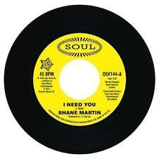 NEW !! - SHANE MARTIN / TAJ MAHAL- I need you / A lot of love - OSV 144
