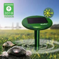 Refuelergy New Outdoor Solar Mole Mouse Gopher Rodent Pest Repeller