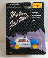 MAISTO MY VERY FIRST WHEELS DIECAST FORD ESCORT POLICE CAR - SEALED BLISTER PACK