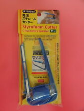 "Daiso Styrofoam Cutter Hot Wire Foam Knife with Spare Wire 1"" x 4.3"" Blue 1 pc"
