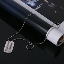 Logan Army Military Metal Pendant Chain Dog Tag Necklace