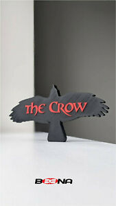 Decorative THE CROW movie self standing logo display