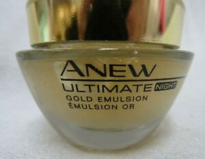 Avon Anew Ultimate Night Gold Emulsion Full size 1.7 oz