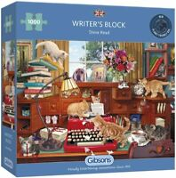 Gibsons Writer's Block 1000 Piece Jigsaw Puzzle