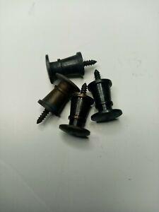O Gauge buffers 7mm scale brass
