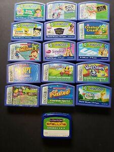 Lot Of 16 Leapfrog Leapster Games