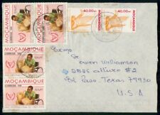 Mayfairstamps Mozambique 1989 to US Multifranked Cover wwf54491