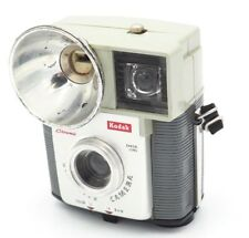 60's Vintage Kodak Brownie Starmite 127 Film Camera Dakon Lens w Round Reflector