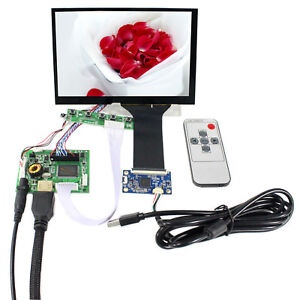 "HD MI Audio LCD Controller Board 7"" N070ICG LD1 1280x800 Capacitive Touch LCD"