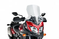 PUIG TOURING SCREEN SUZUKI DL650A V-STROM 12-16 CLEAR