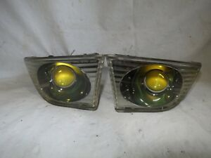 Altezza LEXUS IS200 JDM RS200 SXE10 Genuine Toyota Blk Housing Yellow Fog lights