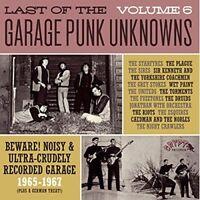 VARIOUS/GARAGE PUNK UNKNOWNS - THE LAST OF..VOL.6  VINYL LP NEW!