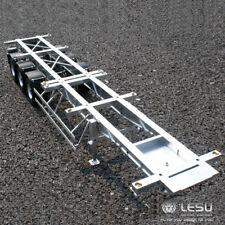 Metal LESU 40 Feet Container Trailer for 1/14 TAMIYA RC Model Car DIY Tractor