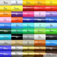 3,65?/m² Oracal 621 5m Plotterfolie Glanz Folie Klebefolie auch als Möbelfolie