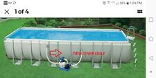Intex (replacement)POOL LINER ONLY. for Ultra Frame Swimming Pool 24 x 12 x 52