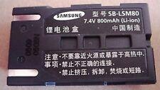 batería original SAMSUNG SB-LSM80 SB-LS80 SC - D VP - D
