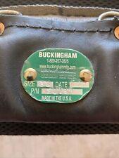 Buckingham Lineman Belt Size 30 4 D Ring W/ Gut & Waist StrapSafety Never Used