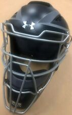 Under Armour Uahg3-Ap Adult Coverage Pro Two-Tone Catcher's Helmet Navy