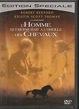 DVD ZONE 2--L'HOMME QUI MURMURAIT A L'OREILLE DES CHEVAUX--REDFORD/JOHANSSON