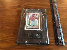 1991 Topps Pedro Guerrero #20 Cardinals-40 Years Of Baseball, Card Plaque