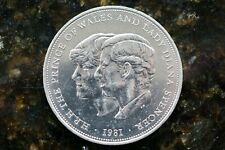 1981 Charles & Diana's Wedding - Uncirculated Crown / 25p Coin