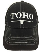 Toro Hat 100 Years Cap Landscape Equipment Advertising Baseball Trucker Black